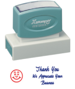Xstamper Jumbo 2-Color Stock Stamp - 3287