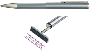 3100 Silver Pen/ Stamp