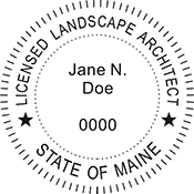 Landscape Architect - Maine<br>LSARCH-ME