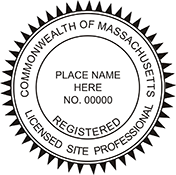 Licensed Site Professional - Massachusetts<br>SITEPRO-MA