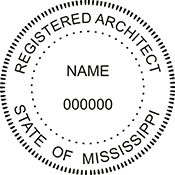 Architect - Mississippi<br>ARCH-MS