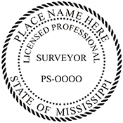 Licensed Professional Surveyor - Mississippi<br>SURV-MS