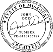 Architect - Missouri<br>ARCH-MO
