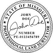 Land Surveyor - Missouri<br>LANDSURV-MO