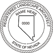 Landscape Architect  - Nevada<br>LSARCH-NV