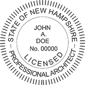 Architect - New Hampshire<br>ARCH-NH