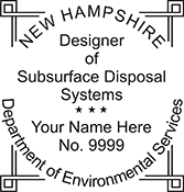 Designer of Subsurface Disposal Systems - New Hampshire<br>DESGNDISPOS-NH