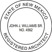 Architect - New Mexico<br>ARCH-NM