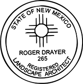Landscape Architect - New Mexico<br>LSARCH-NM