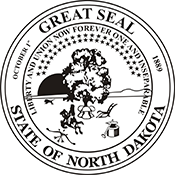 State Seal - North Dakota<br>SS-ND