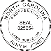 Land Surveyor - North Carolina<br>LANDSURV-NC
