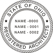 Architects (3 Names) - Ohio<br>ARCH3-OH