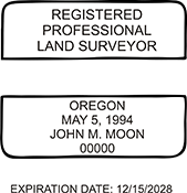 Land Surveyor - Oregon<br>LANDSURV-OR