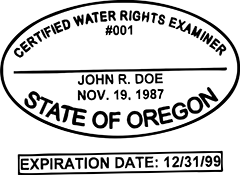 Water Examiner - Oregon<br>WATER-OR