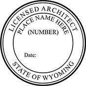 Architect - Wyoming<br>ARCH-WY