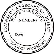 Landscape Architect - Wyoming<br>LSARCH-WY