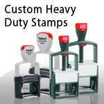 Custom Heavy Duty Stamps