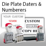 Die Plate Daters & Numberers