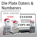 Die Plate Daters & Numberers
