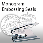Monogram Embossing Seals