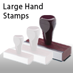 Large Hand Stamps