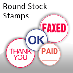 Round Stock Stamps