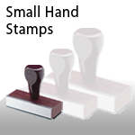 Small Hand Stamps