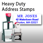 Heavy Duty Address Stamps