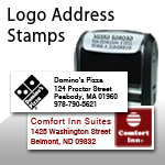 Logo Address Stamps
