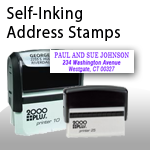 Self-Inking Address Stamps