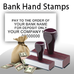 Bank Hand Stamps