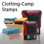 Clothing-Camp Stamps