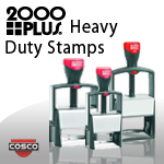 2000 Plus Heavy Duty Stamps