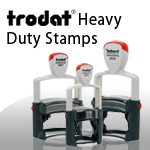 Trodat Heavy Duty Stamps