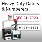 Heavy Duty Daters & Numberers