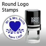 Round Logo Stamps