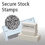 Secure Stock Stamps