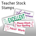 Teacher Stock Stamps