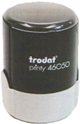 46050 Trodat Round Self-Inking Stamp