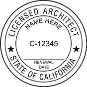 Architect - California<br>ARCH-CA