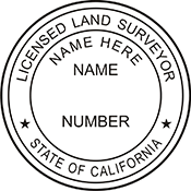 Land Surveyor - California<br>LANDSURV-CA