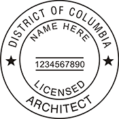 Architect - District of Columbia<br>ARCH-DC