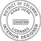 Interior Designer - District of Columbia<br>INTDESGN-DC
