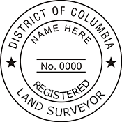 Land Surveyor - District of Columbia<br>LANDSURV-DC