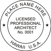 Architect - Hawaii<br>ARCH-HI