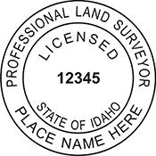 Land Surveyor - Idaho<br>LANDSURV-ID