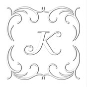 Custom Square Monogram Embosser