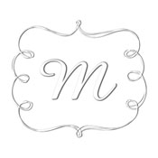 Custom Rectangular Monogram Embosser.