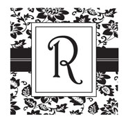 Custom Square Monogram Stamp