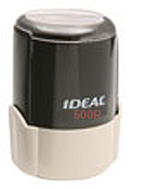Ideal 500R Round Self-Inking Stamp